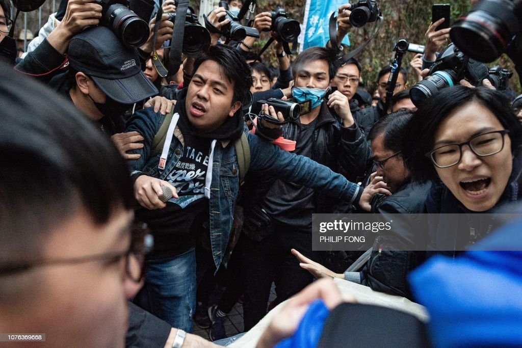 HONG KONG-POLITICS-RIGHTS : News Photo