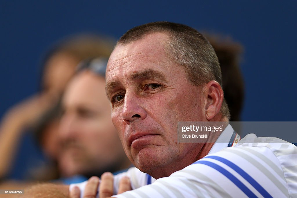 Ivan Lendl, the coach of Andy Murray of Great Britain watches his men's singles quarterfinal match against Marin Cilic of Croatia on Day Ten of the 2012 US Open at USTA Billie Jean King National Tennis Center on September 5, 2012 in the Flushing neighborhood of the Queens borough of New York City.