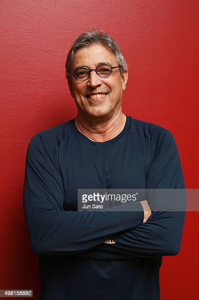 Ivan Lins poses for a photograph during Kawasaki Jazz on November 21 2015 in Kawasaki Japan