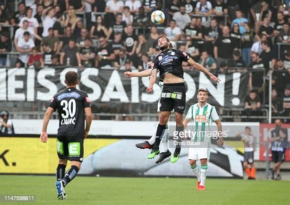 Ivan Ljubic Markus Pink Of Sturm Graz And Stephan Auer Of Rapid Wien News Photo Getty Images