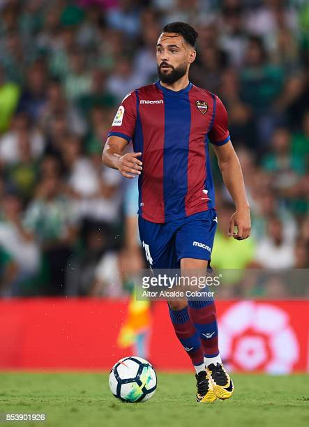 Ivan Lopez 'Ivi' of Levante UD in action during the La Liga match between Real Betis and Levante at Estadio Benito Villamarin on September 25 2017 in...