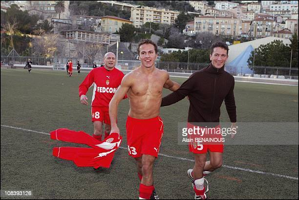 Ivan Lopez Peres and brother Adans Lopez Peres In Monaco on January 19 2004