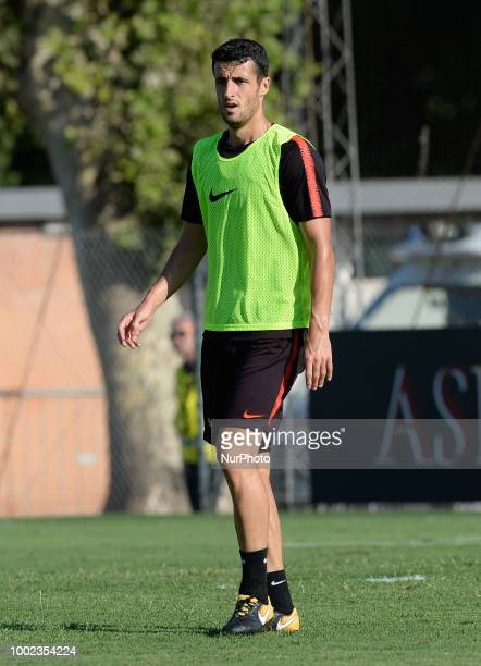 Ivan Marcano during training session open to the fans of AS Roma preseason retreat at Stadio Tre Fontane on july 19 2018 in Rome Italy
