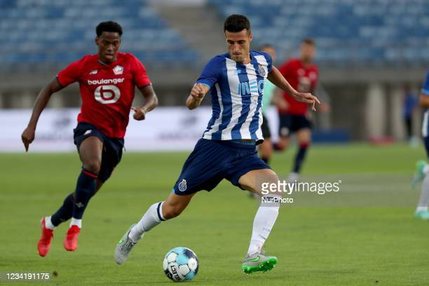 Ivan Marcano of FC Porto in action during the pre-season friendly football match between FC Porto and Lille OSC at the Algarve stadium in Loule,...