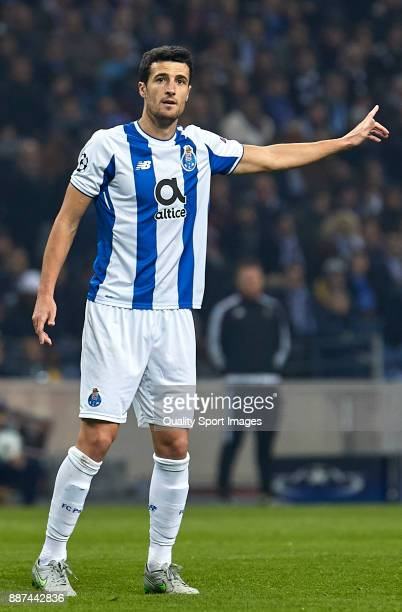 Ivan Marcano of FC Porto reacts during the UEFA Champions League group G match between FC Porto and AS Monaco at Estadio do Dragao on December 6 2017...