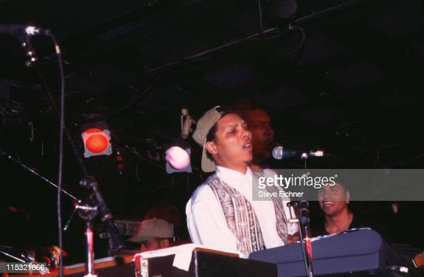 Ivan Neville of Neville Brothers during Neville Brothers in Concert at Tramps - 1995 at Tramps in New York City, New York, United States.