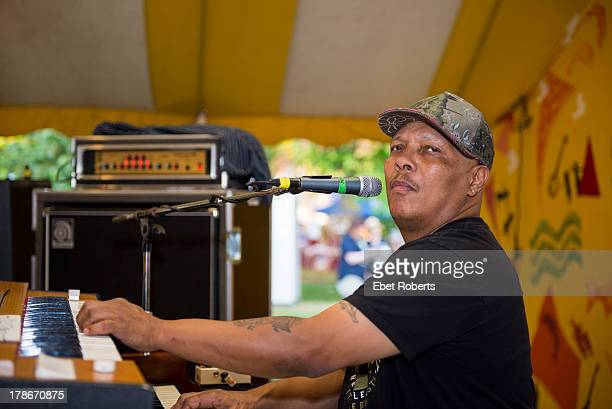 Ivan Neville performs at Clearwater's Great Hudson River Revival Festival at Croton Point Park in CrotononHudson New York on June 15 2013