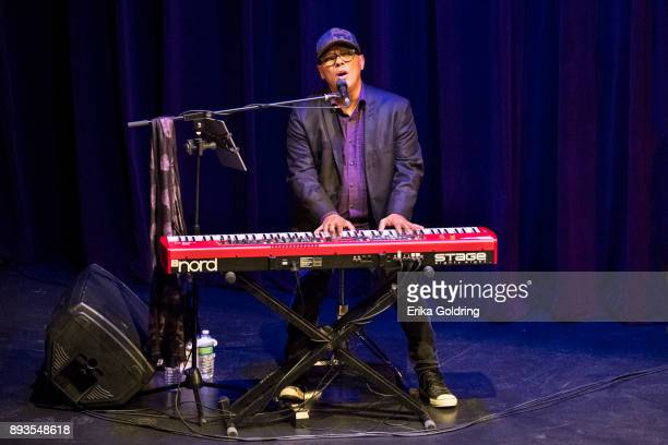 Ivan Neville performs during Can'd Aid Foundation's Send Me A Friend Benefit Concert at Le Petit Theatre on December 14 2017 in New Orleans Louisiana