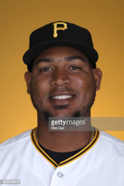 Ivan Nova of the Pittsburgh Pirates poses for a photo during photo days at LECOM Park on February 21 2018 in Bradenton Florida