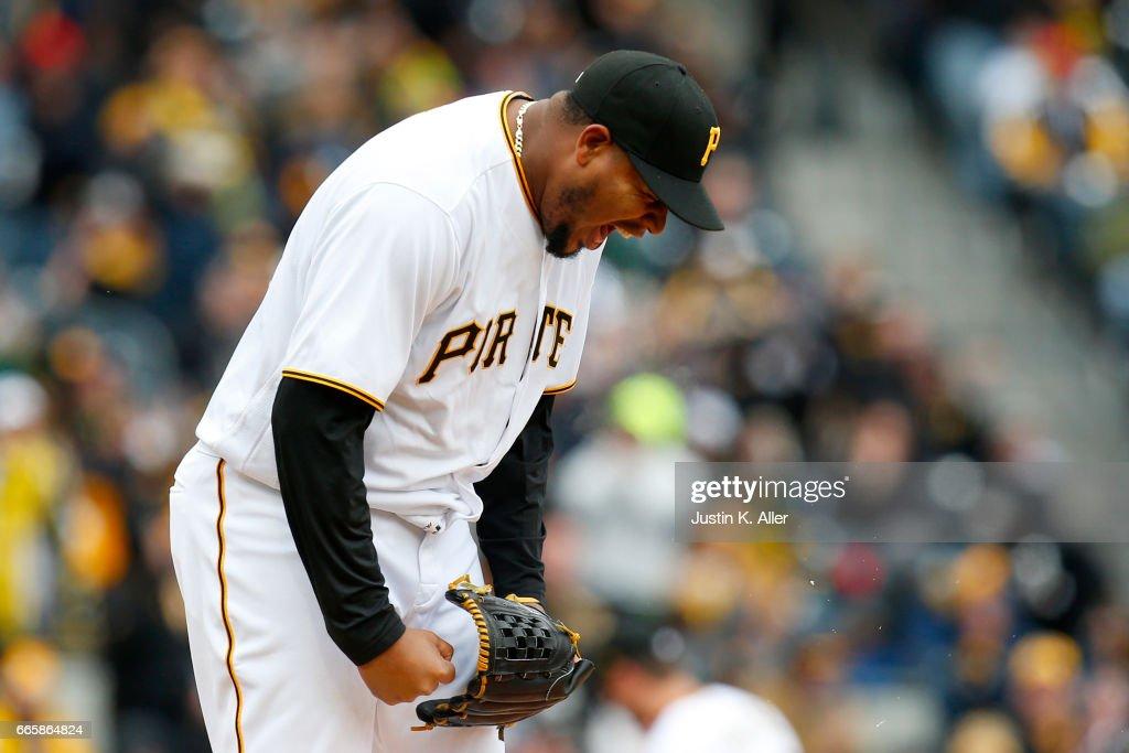 Atlanta Braves v Pittsburgh Pirates : Nachrichtenfoto