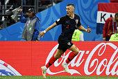 moscow russia ivan perisic croatia gestures