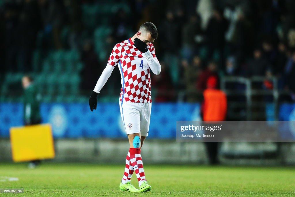 Estonia v Croatia - International Friendly : News Photo