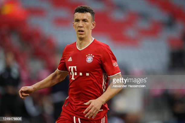 Ivan Perisic of FC Bayern Muenchen looks on during the Bundesliga match between FC Bayern Muenchen and Borussia Moenchengladbach at Allianz Arena on...