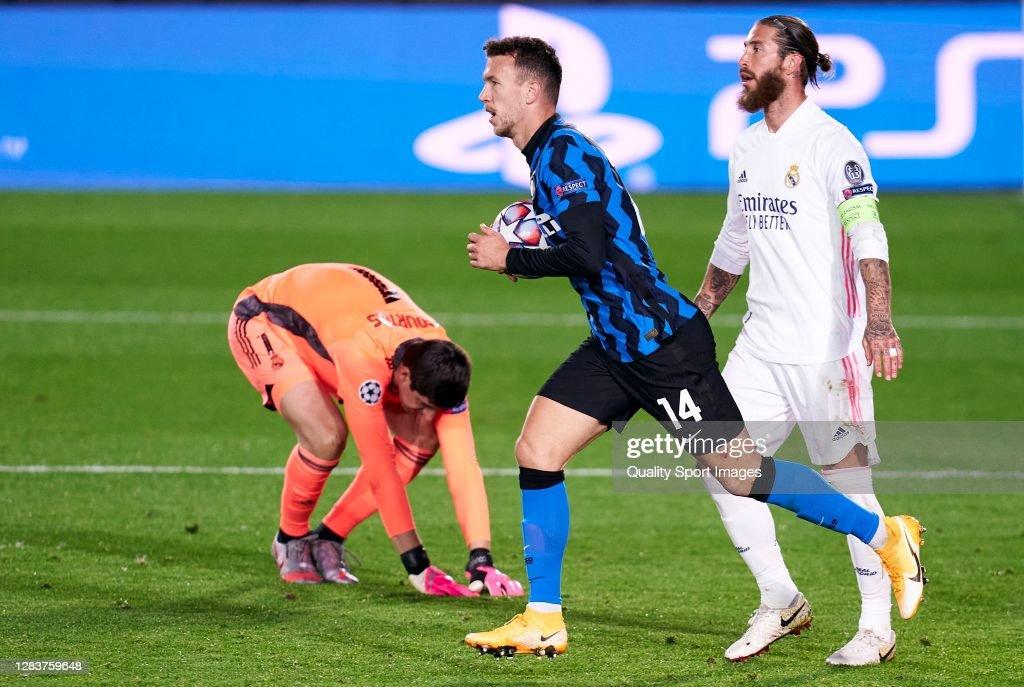 Real Madrid v FC Internazionale: Group B - UEFA Champions League : News Photo