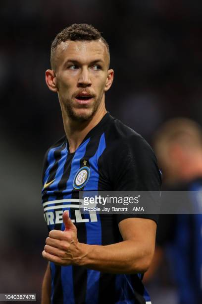 Ivan Perisic of FC Internazionale during the Serie A match between FC Internazionale v ACF Fiorentina at Stadio Giuseppe Meazza on September 25 2018...