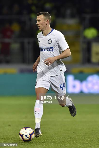 Ivan Perisic of FC Internazionale during the Serie A match between Frosinone Calcio and FC Internazionale at Stadio Benito Stirpe Frosinone Italy on...