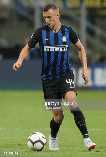 Ivan Perisic of FC Internazionale in action during the serie A match between FC Internazionale and Torino FC at Stadio Giuseppe Meazza on August 26...