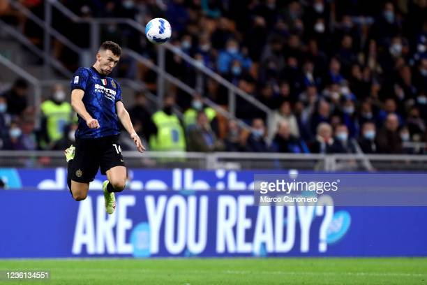 Ivan Perisic of Fc Internazionale in action during the Serie A match between Fc Internazionale and Juventus Fc. The match ends in a tie 1-1.