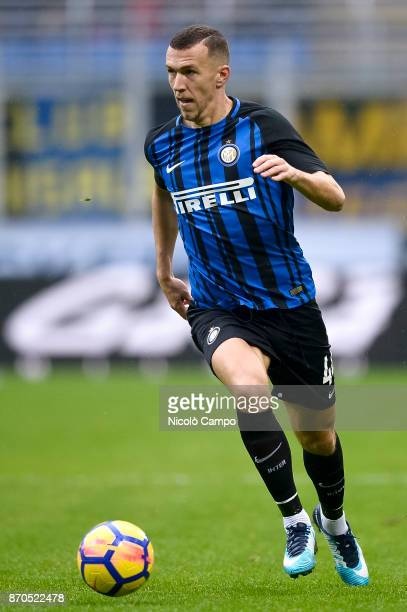 Ivan Perisic of FC Internazionale in action during the Serie A football match between FC Internazionale and Torino FC The match ended in a 11 tie