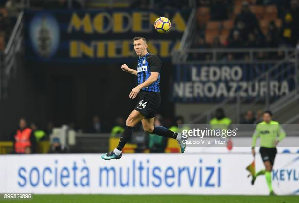Ivan Perisic of FC Internazionale in action during the serie A match between FC Internazionale and SS Lazio at Stadio Giuseppe Meazza on December 30...