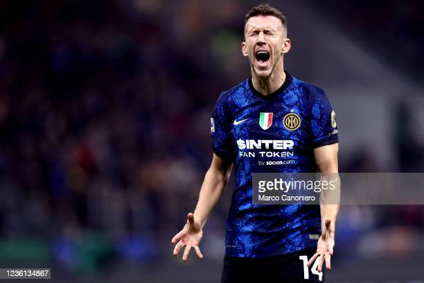 Ivan Perisic of Fc Internazionale looks dejected during the Serie A match between Fc Internazionale and Juventus Fc. The match ends in a tie 1-1.