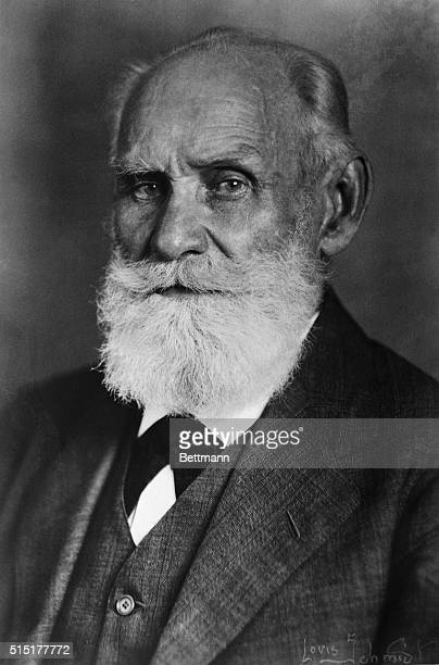 Ivan Petrovitch Pavlov famous Russian physician. Undated photograph.