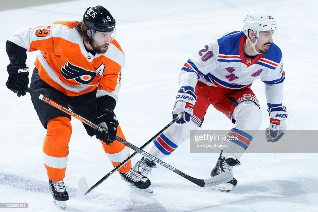 New York Rangers v Philadelphia Flyers : News Photo