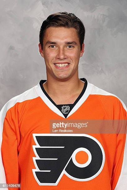 Ivan Provorov of the Philadelphia Flyers poses for his official headshot for the 20162017 season on July 6 2016 at the Virtua Flyers Skate Zone in...