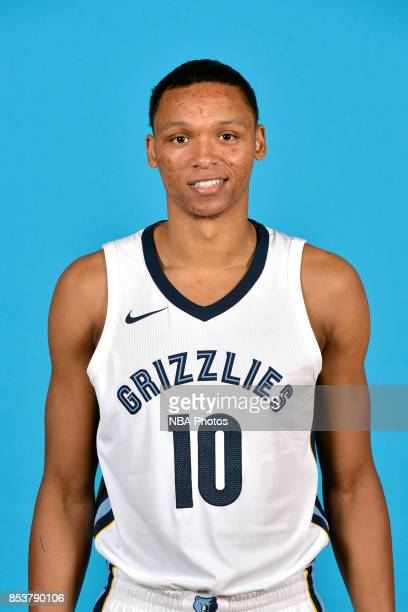 Ivan Rabb of the Memphis Grizzlies poses for a head shot during Memphis Grizzlies Media Day on September 25 2017 at FedExForum in Memphis Tennessee...