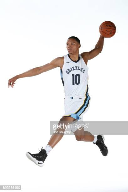 Ivan Rabb of the Memphis Grizzlies poses for a portrait during Memphis Grizzlies Media Day on September 25 2017 at FedExForum in Memphis Tennessee...