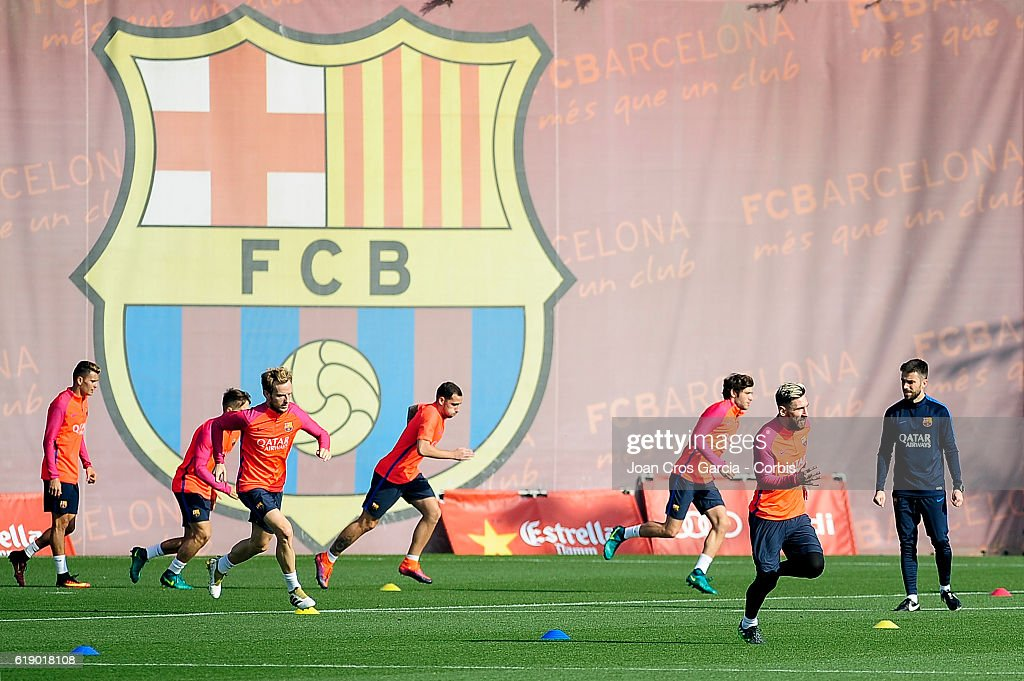 FCB Training Session 28 October : News Photo