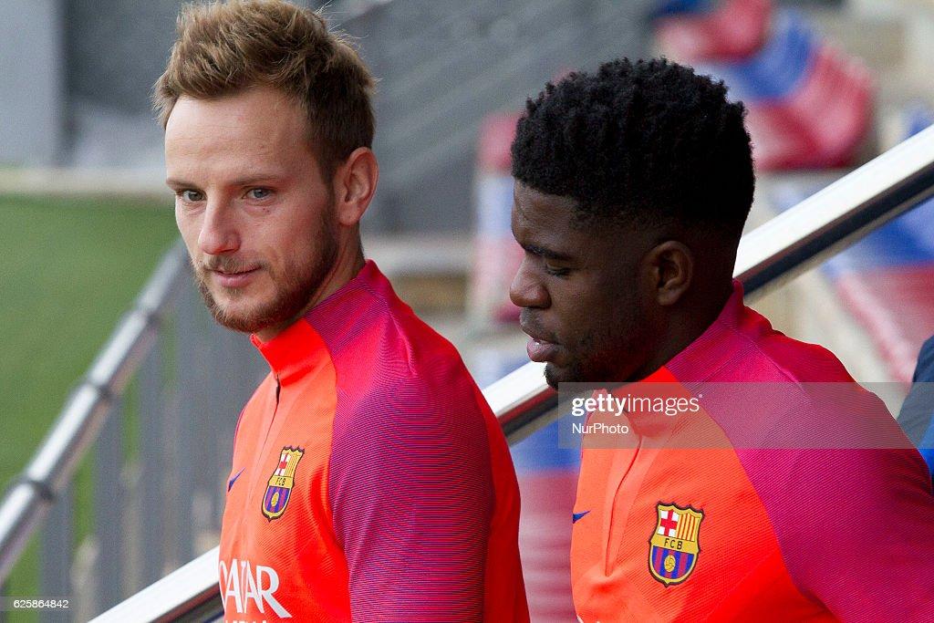 FC Barcelona Training Sesion : News Photo