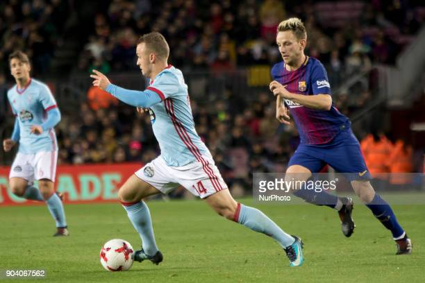 Ivan Rakitic during the spanish Copa del Rey match between FC Barcelona and Celta de Vigo at the Camp Nou Stadium in Barcelona Catalonia Spain on...