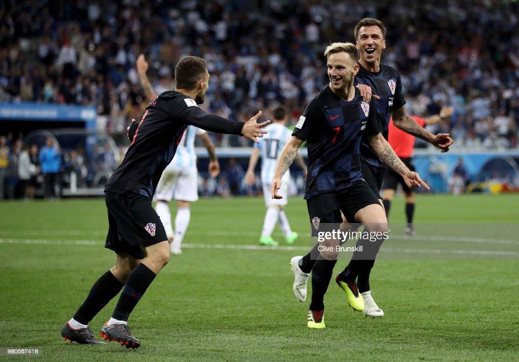 Argentina v Croatia: Group D - 2018 FIFA World Cup Russia : News Photo
