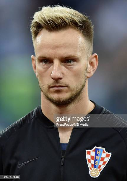 Ivan Rakitic of Croatia during the 2018 FIFA World Cup Russia group D match between Argentina and Croatia at Nizhniy Novgorod Stadium on June 21 2018...