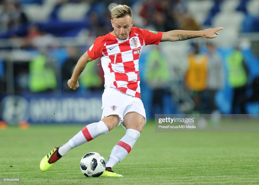 Croatia v Nigeria: Group D - 2018 FIFA World Cup Russia : News Photo