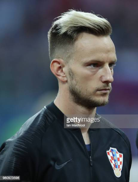 Ivan Rakitic of Croatia is seen during the 2018 FIFA World Cup Russia group D match between Argentina and Croatia at Nizhny Novgorod Stadium on June...