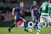 ivan rakitic fc barcelona during uefa