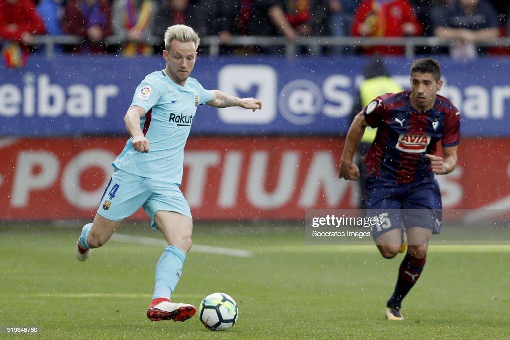 Eibar v FC Barcelona - La Liga Santander : News Photo