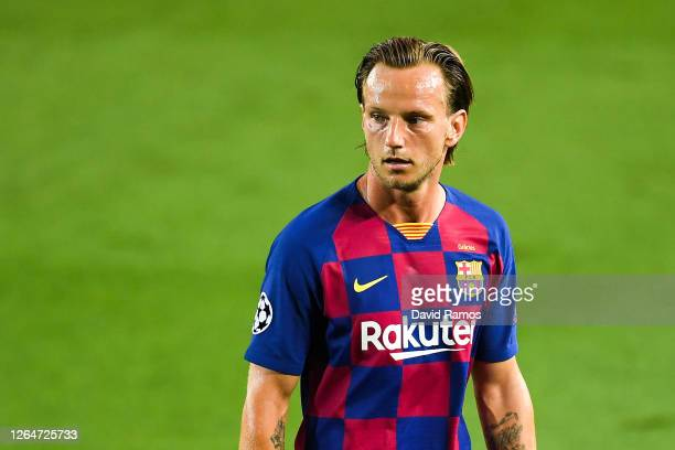 Ivan Rakitic of FC Barcelona looks on during the UEFA Champions League round of 16 second leg match between FC Barcelona and SSC Napoli at Camp Nou...
