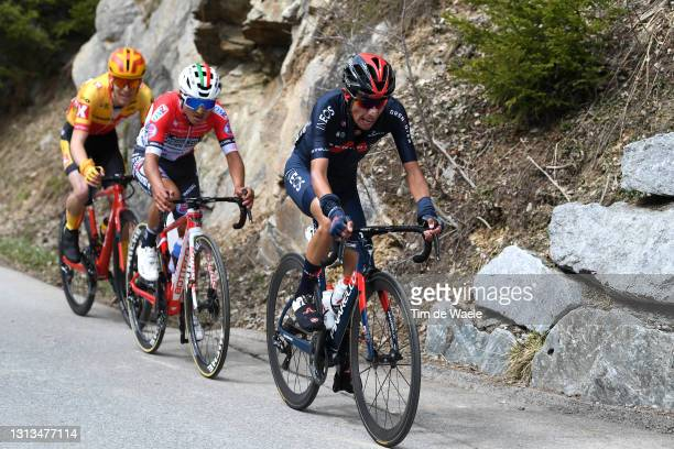 Ivan Ramiro Sosa Cuervo of Colombia and Team INEOS Grenadiers during the 44th Tour of the Alps 2021, Stage 2 a 121,5km stage from Innsbruck to...