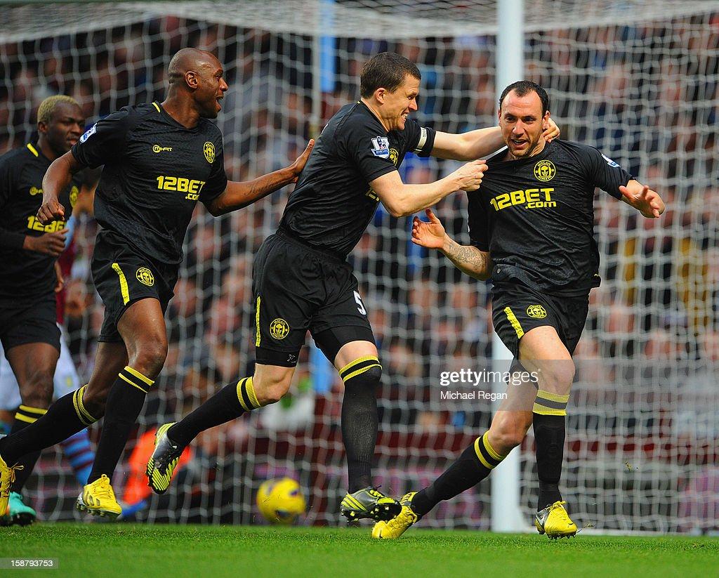 Aston Villa v Wigan Athletic - Premier League