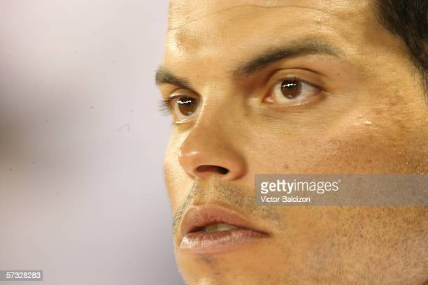 Ivan Rodriguez of Puerto Rico is pictured during the game against Cuba on March 15 2006 at Hiram Bithorn Stadium in San Juan Puerto Rico Cuba...