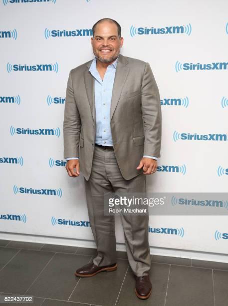 Ivan Rodriguez visits at SiriusXM Studios on July 25 2017 in New York City