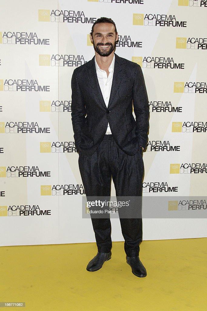 Ivan Sanchez attends Academia del perfume awards photocall at Casa de America on November 20, 2012 in Madrid, Spain.
