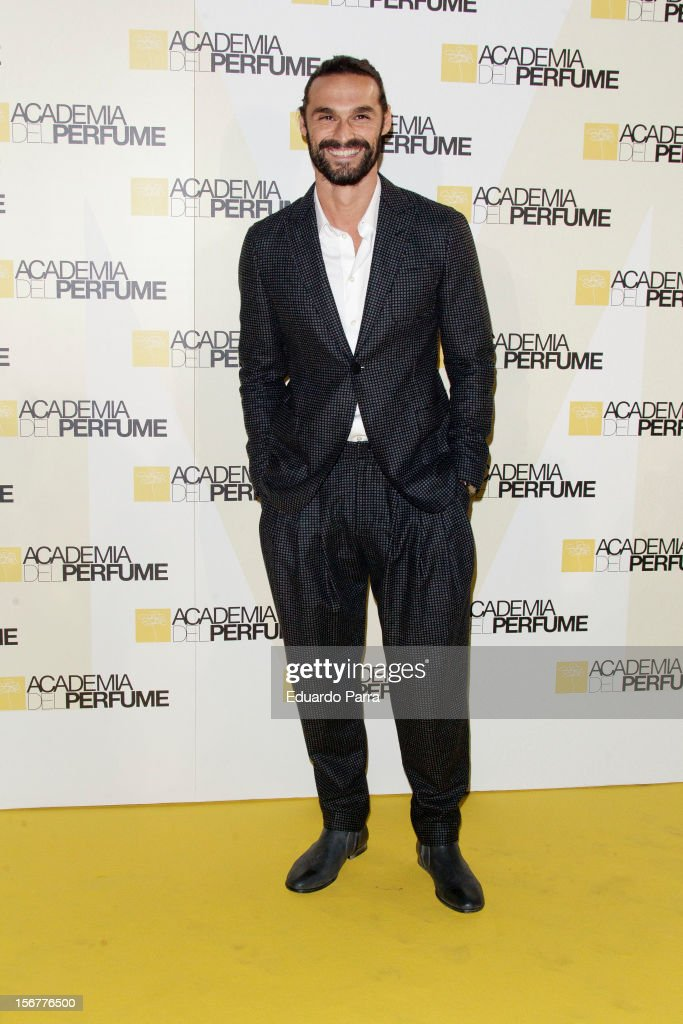 Ivan Sanchez attends Academia del perfume awards photocall at Casa de America on November 20, 2012 in Madrid, Spain.