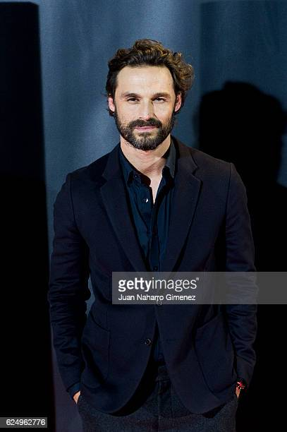 Ivan Sanchez attends 'Backseat Fighter' premiere during the Madrid Premiere Week at Callao Cinema on November 21 2016 in Madrid Spain