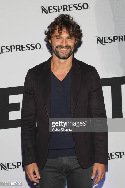Ivan Sanchez attends the Nespresso Vertuo launch on September 26 2018 at Piacere in Mexico City Mexico