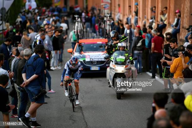 Ivan Santaromita of Italy and Team Nippo Vini Fantini - Faizane / Public / Fans / Landscape / during the 102nd Giro d'Italia 2019, Stage 1 a 8km...