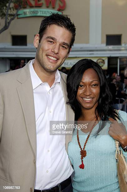 Ivan Sergei and wife Tanya during The Break Up Los Angeles Premiere Arrivals in Westwood California United States